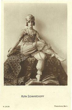 Ruth Schwarzkopf.Avant garde Dancer,Berlin 1920's.Pure Weimar era product.