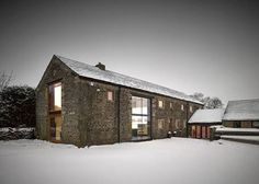Image result for contemporary barn house