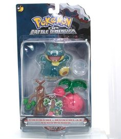Pokemon Diamond & Pearl Battle Dimension Multipack - Cherubi, Munchlax, and Sudowoodo by Jakks. $25.00. Save 17% Off!