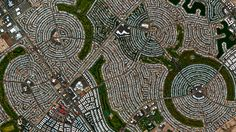 Beautiful, Troubling Photos Show Our Planet as Astronauts See It | Sun City, Arizona   Benjamin Grant/DigitalGlobe  | WIRED.com