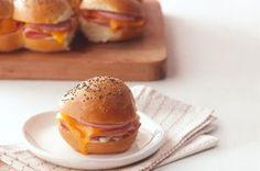 Party Ham Sandwiches recipe #GameDay