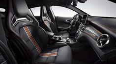 Mercedes Shooting Brake CLA-klasse (Orange Art)