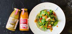 Kein Salat mehr ohne Emils! Packt eure frischen Lieblings-Zutaten in eine Schüssel und gebt euren Lieblings-Emils dazu - immer perfekt! Hier geht's zu den Dressings: https://www.allyouneed.com/emils