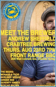 Meet the Brewer: Crabtree Brewing
