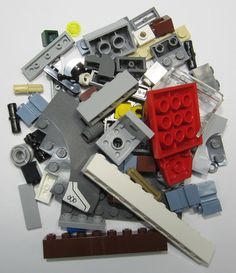 50+ LEGO Original Pieces Bulk Washed and Sanitized NEW (BK23)