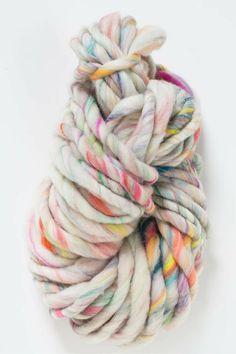 Wanderlust yarn by Knit Collage in Frolic colorway ~ beautiful handspun super bulky yarn made in India, knitting with love, chunky yarn, colorful kits, boho knitting, diy knitwear, easy knitting, beginner knitter,