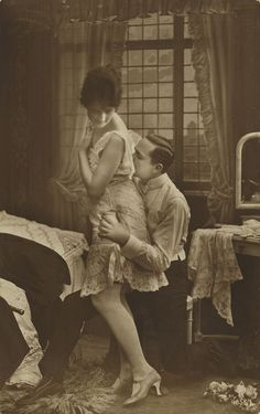 vintage postcards love couples 1920