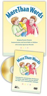 """More Than Words – Hanen Program for Parents of Children with Autism / """"R.O.C.K.™ in your Routine""""  Repeat what you say and do Offer opportunities for your child to take a turn Cue your child to take his turn; and Keep it fun! Keep it going! The R.O.C.K.™ strategy can be used during any activity you do with your child to foster longer, more meaningful interactions and improved social skills."""