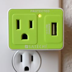Satechi Compact USB Surge Protector for Charging Players, iPhone, BlackBerry, Android, and Windows Mobile Phones Top Gadgets, Gadgets And Gizmos, Travel Gadgets, Unique Gadgets, Awesome Gadgets, Cool Technology, Technology Gadgets, D House, Tech Toys