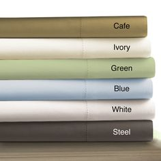 @Overstock - Enhance your sleeping experience with these deep-pocket 800-thread count Egyptian cotton sheets. Available in a variety of colors, these sheets are soft and smooth, have a sateen weave, come with a fitted sheet and pillowcases, and are high in quality.http://www.overstock.com/Bedding-Bath/Egyptian-Cotton-800-Thread-Count-Extra-Deep-Pocket-Sheet-Set/6144202/product.html?CID=214117 $89.99