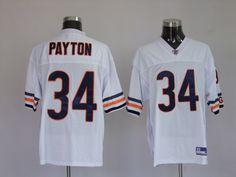25.99 nfl jersey chicago bears walter payton 34 white