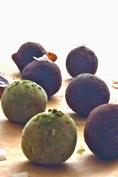 Passionately Raw! - Raw Matcha Lime Coconut Truffles