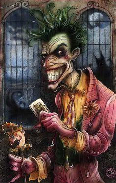 Joker by Sam Kieth