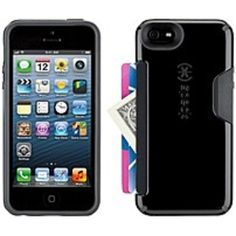 Speck Products SPK-A2642 CandyShell Card Case for iPhone 5/5S - Black