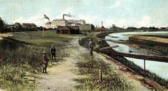 On the bank of Mures river, Arad