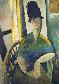 Modigliani's Women. Jeanne Hebuterne                                                                                                                                                      More