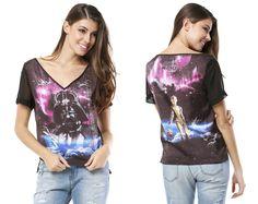 "Star Wars by Triton // T-Shirt Fem ""Star Wars"""