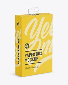 Yellowimages Free Mockups Paper Box with Hang Tab Mockup - Half Side View (high-angle shot) Object Mockups Free PSD Mockups Box Mockup, Mockup Templates, Box Packaging, Packaging Design, Medicine Packaging, Billboard Signs, High Angle Shot, Design Maker, Carton Box