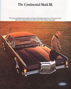 353 best Lincoln    car brochures images on Pinterest   Lincoln     Lincoln Mark III 1969