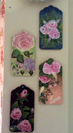 Collections of roses.../painted by Salina M. Ali/beautiful!