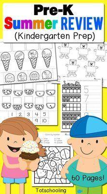 Pre-K Summer Review (Kindergarten Prep)