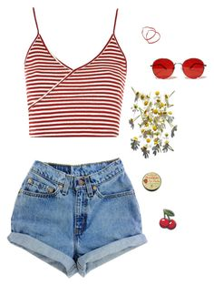 """#18"" by ella-appaloosa on Polyvore featuring Topshop and Fantas-Eyes"