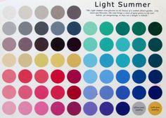 Light Summer Palette