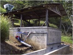 Back to Basics: Direct Hydropower How to use a modern water wheel to create power!