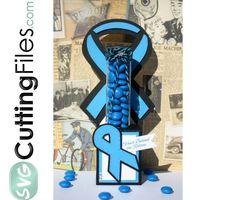 Awareness Ribbon Candy Tube Holder