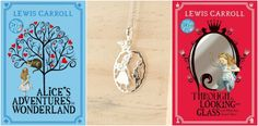 Enter this giveaway for a chance to win two Alice in Wonderland 150th birthday books and a sterling silver Alice pendant made by Song...