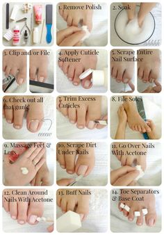 DIY Basic Pedicure
