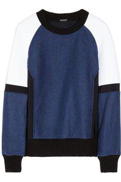 DKNY Pullover With Neoprene Inserts, $495; dkny.com