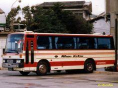 中型・小型貸切バス ①   日交バス貸切車   すこ~し昔の鳥取のバス   くる梨写真館 別館