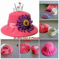 ❣ Little Kimono Handmade ❣ : ReciclART · Alfiletero con Cd´s