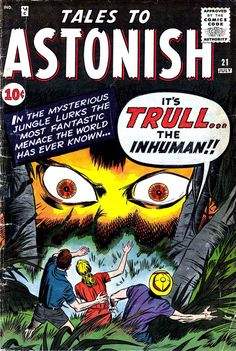 Pencil Ink: a blog featuring golden, silver and bronze age comic book art and artists: Tales to Astonish #21 - Jack Kirby art & cover, Steve Ditko art