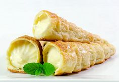 Rulouri cu crema de vanilie reteta video | JamilaCuisine