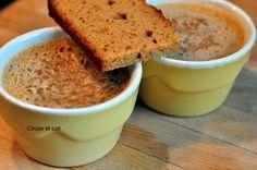 Crèmes de marron au pain d'épices