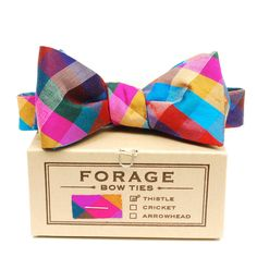 Jewel Tone Bow Tie :: FORAGE