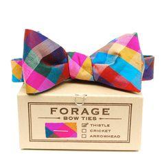 Jewel Tone Bow Tie :: FORAGE