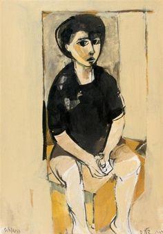 Ruth Schloss, Portrait of a young boy