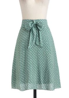 $39.99 - Isle of White Skirt, #ModCloth