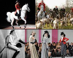 Equestrian fashion throughout time