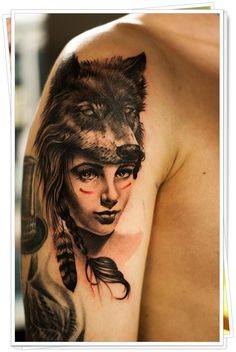 wolf tattoos 6