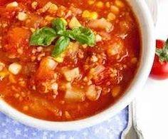 Recipe Spiced Mexican Tomato & Corn Soup by Nico Moretti - Recipe of category Soups