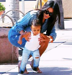 I'm so in love with baby North