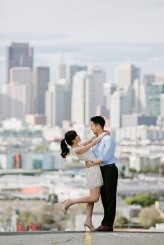 Together for three years, Cindi and Alex will tie the knot this fall. Although they currently reside in Hong Kong, the couple decided to spend some time in San Francisco for their engagement session and snap some pre-wedding photos. If you are not already familiar, pre-wedding photos are a popular trend in Asia where the …