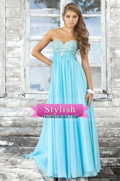 2012 Collection Prom Dresses A Line Sweetheart Floor Length Chiffon With Beading/Sequins