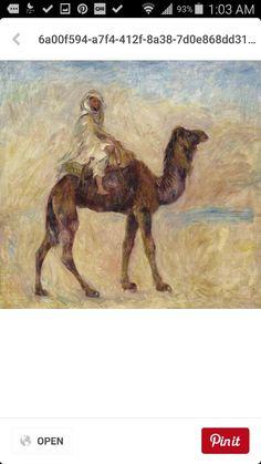 Impressionist camel