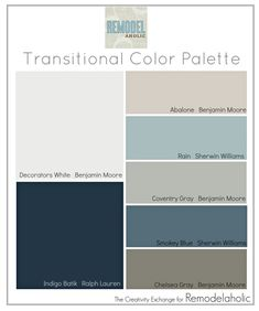 Home color palettes