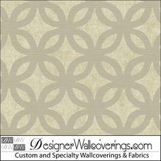 Palm Island Lattice Trellis Wall Paper [COL-2706] : Designer Wallcoverings™
